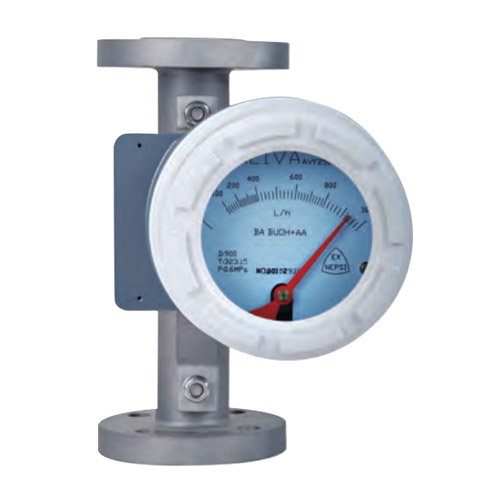 Vortex flowmeter for 4 aspects of actual work sensitivity adjustment